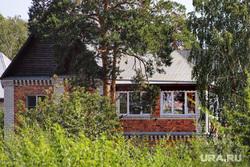Коттеджный посёлок. Курган , дом, недвижимость, коттедж, дача, загородный дом, коттеджный поселок, фасад дома