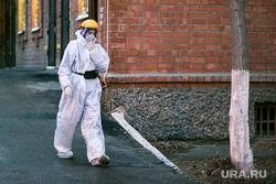 Врачи и скорая помощь. Тюмень, защитный костюм, врачи, защитная маска, медики, фельдшеры