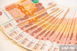 Клипарт. Пермь , купюры, рубли, денежный веер, деньги, пять тысяч