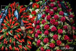 Прощание с Михаилом Сафроновым. Екатеринбург, венок, прощание, гражданская панихида, похороны