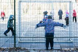Детский сад Зайка. Тюмень, детский сад, дети, детская площадка, дети играют