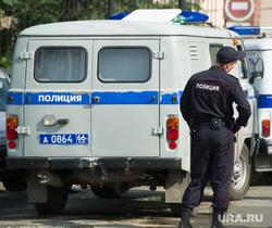 Ремонт автодорожного моста между Екатеринбургом и Первоуральском, конвой, уаз, гуфсин, полиция