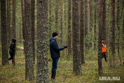 Полевые учения представителей добровольческих поисково-спасательных отрядов. Сургут, лес, ориентирование, поиск пропавших