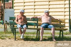 Пляж Верхний бор. Тюмень, пляж, пенсионеры, база отдыха верхний бор, верхний бор