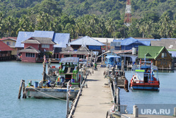 Таиланд, корабли, причал, море берег