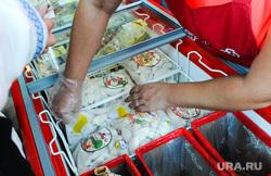 Агро 2014. Еда. Челябинск, вареники, холодильник, пельмени, морозилка