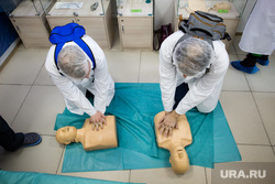 Пресс-тур в окружной «Центр диагностики и сердечно – сосудистой хирургии». Сургут, первая помощь, музей сердца, массаж сердца