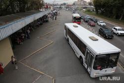 Виды города. Пермь, автобус, автовокзал пермь