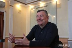 Председатель Законодательного Собрания Пермского края Валерий Сухих во время интервью. Пермь, сухих валерий