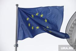 Здания, жанры. Москва, евросоюз, флаг евросоюза, флаг, европейский союз