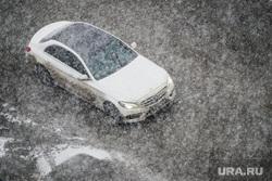Снегопад. Челябинск, снег, погода, мерседес, автомобиль, снегопад, климат, автотранспорт