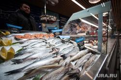 Открытие супермаркета «Перекресток». Екатеринбург, продуктовый магазин, морепродукты, замороженная рыба, рыба