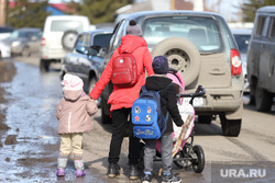 Визит врио губернатора Шумкова Вадима в с. Мальцево. Шадринск, пдд, мама с детьми, многодетная мама