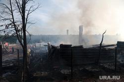 Пожар в деревне Броды Пермского района Пермского края 2 июня 2014, пожарище, сгоревший дом, последствия пожара