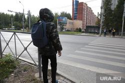 Детская безопасность. Дорога. Пермь, пешеходный переход, детская безопасность, ребенок на дороге