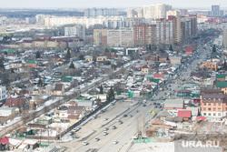 Виды города с высоты. Тюмень, частные дома, частный сектор, тюмень, виды тюмени