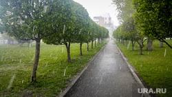 Майский снегопад 2. Екатеринбург, снег, аллея, плохая погода, мокрый снег, снегопад, набережная рабочей молодежи, весна, дождь