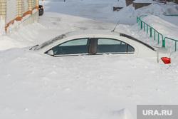 Снегопад. Челябинск, снег, снегопад, зима, автомобиль, автотранспорт, мороз