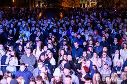 URAL MUSIC NIGHT. Екатеринбург, массовое мероприятие, публика, зрители, толпа
