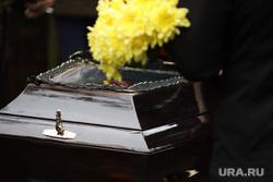 Похороны атамана Попова Валерия. Курган, похороны, смерть, захоронение, гроб