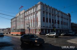 Виды города. Пермь, пермская городская дума, администрация города перми