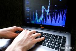 Клипарт. Компьютерная клавиатура, монитор, графики, приложения. Курган, ноутбук, финансы, биржа, график, экономика, торговля на бирже, биржевый график, инвистиции