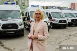 Передача машин скорой помощи от благотворительного фонда  РМК региональной системе здравоохранения. Челябинск, гехт ирина