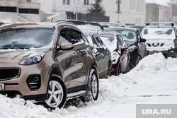 Клипарт по теме Морозы. Курган, снег, парковка, зима, машины в снегу, мороз