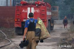 Верховые пожары в поселках Джабык и Запасное. Челябинская область, мчс, пожарный, лесной пожар, село запасное