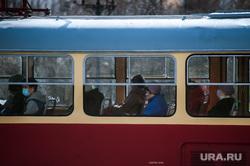 Виды города во время вынужденных выходных из-за ситуации с CoVID-19. Екатеринбург, екатеринбург , трамвай, пустой город