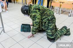 Обучение действиям УИК при возникновении нештатных ситуаций в дни голосования. Челябинск, сапер, бомба, минирование, сву, минер, бесхозный предмет, взрывное устройство
