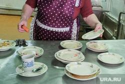 Столовая в промышленном техникуме. Курган, столовая, еда, школьная столовая, питание, школьное питание