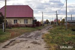 Село Введенское. Курган, село, сельская дорога, улица, деревня