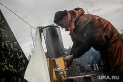 Рабочая поездка Дмитрия Кобылкина в Норильск. Норильск, спасатели, вахтовики