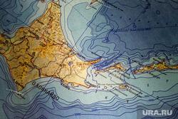 Географическая карта, Курильские острова. Москва, курильские острова, географическая карта, кунашир, итуруп, хоккайдо, южные курилы