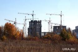 Виды города. Пермь, новостройка, стройка, кран строительный, жк погода