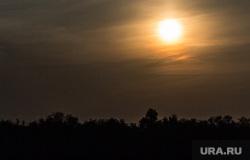 Клипарт. Екатеринбург , солнце, закат