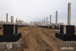 Строительство ТЦ. Курган , строительная площадка, строительные работы, 8 микрорайон, стройка, заозерный, строительство тц