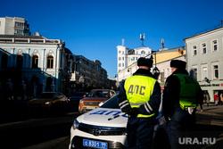 Виды города. Москва, гибдд, дпс, инспектор