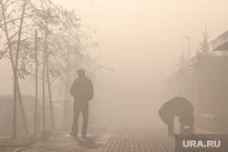 Смог в мкр Солнечный и работа Мчс России на горящем торфяннике. Екатеринбург, дым, смог, туман