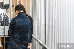 Приговор убийцам Катаргиной. Екатеринбург , женская камера, скамья подсудимых, зал суда, суд, судебный процесс, подсудимая, женщина в суде, суд над женщиной, женскаяя тюрьма
