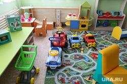 Визит полпреда Якушева Владимира в город Шадринск. Курган, детский сад, детская мебель, группа в детском саду
