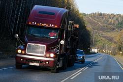 Виды Челябинской области, фура, тягач, грузовик, дальнобойщики, перевозка грузов, дальнобой