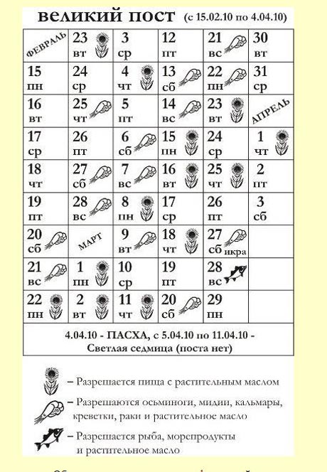 Не пост, а  праздник элитарной пищи. Екатеринбургская епархия опубликовала список постных продуктов. В меню - осьминоги, мидии, креветки, икра